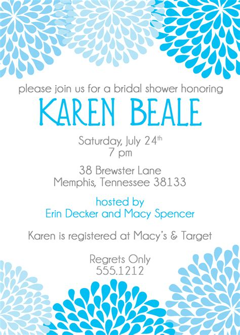 When To Send Out Bridal Shower Invites by When To Send Bridal Shower Invitations Template Best