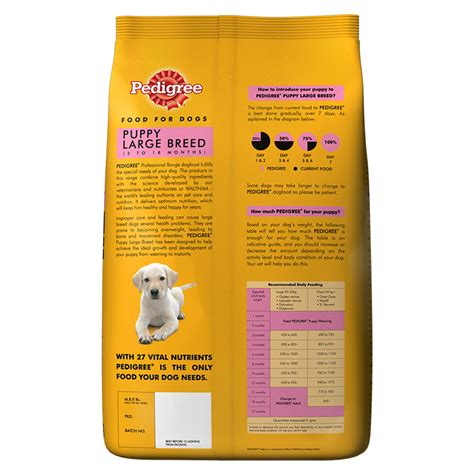 Smart Puppy Beef And Milk Flavour 1 5kg Mirip Pedigree Alpo 1 pedigree puppy food feeding guidelines foodfash co