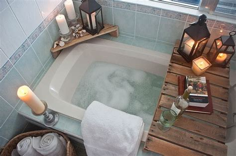 diy bathtub surround storage ideas hative