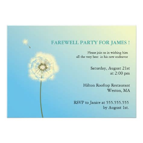 204 farewell party invitations farewell party