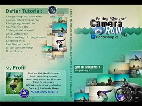 tutorial photoshop edit foto bahasa indonesia edit foto semi vintage tutorial camera raw part 6