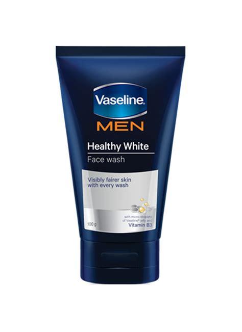 vaseline pembersih wajah healthy white tub 100g