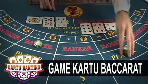 baccarat  game kartu remi  populer kartu banting