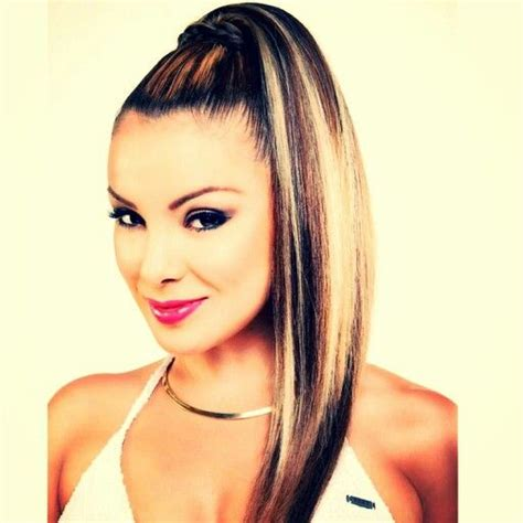 lucero hairstyle hairstyles pony tail by monica lucero monica vivar