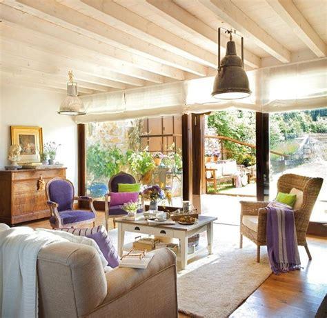 Rustic Livingroom by