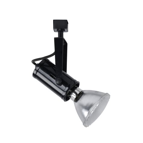 project source track lighting shop project source 1 light dimmable black gimbal linear