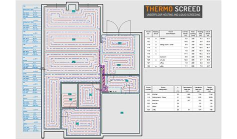 ufh layout software ufh design underfloor heating design specification