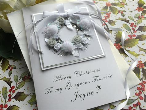 Handmade Cards Uk - handmade card quot pom pom wreath quot handmade cards
