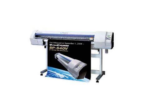 Printer Roland roland versacamm sp540v printer the equipment