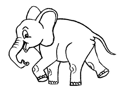 print download teaching kids through elephant coloring