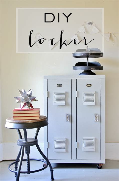 diy locker projects what the bookcase whispered to me thistlewood farm