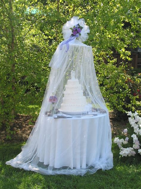 Cake Designs For Wedding Receptions by Protect Your Cake At An Outdoor Wedding Reception Chica
