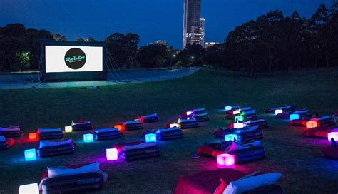 bed cinema mov in bed open air cinema 2017 sydney