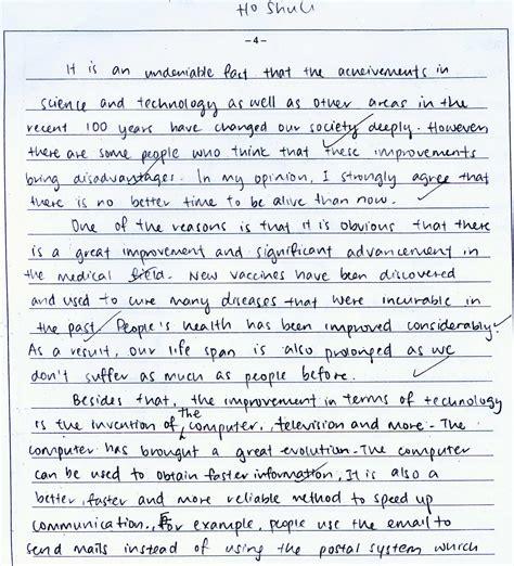 ielts essay writing sles ielts letter writing sle best letter sle