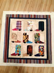 cowboy boot quilt pattern noelle o designs