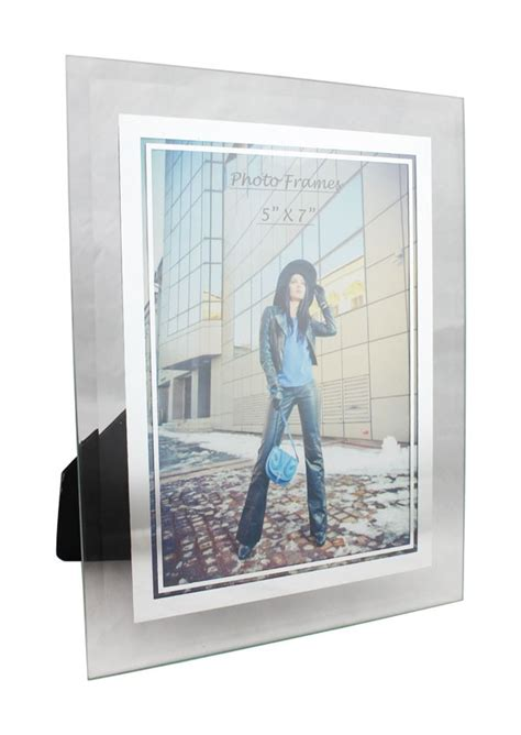 plus picture frames glass mirrored picture frames 5x7