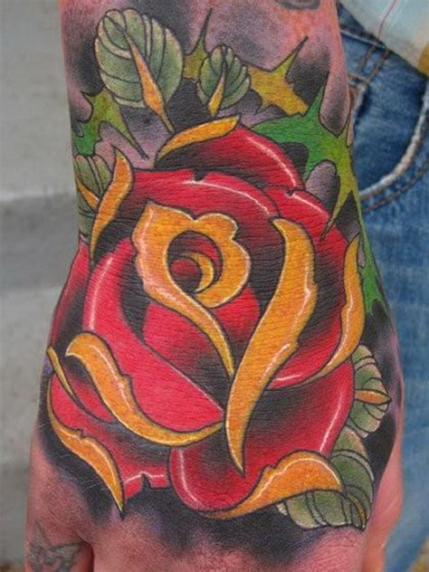 red rose tattoo for men 20 skull tattoos for
