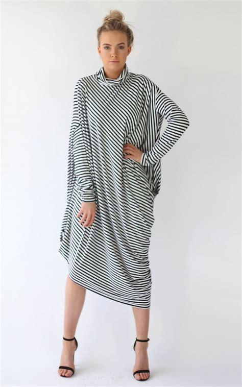 Bird Stripe Draped Top Sk agenna stripe asymmetric drape dress silkfred