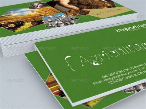 agriculture business card templates free agriculture business card template by hanifharoon