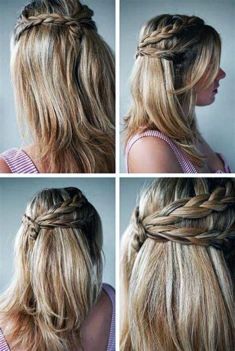 braided down hairstyles pinterest cute braided hairstyles for long hair tutorial prom