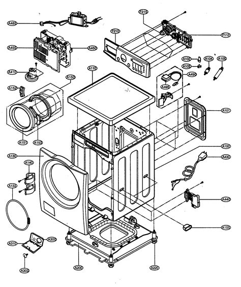 lg front load washer parts diagram 301 moved permanently