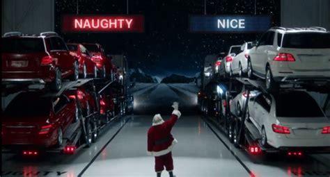 Mercedes In Santa by Santa Delivers Presents In A Mercedes Sls Amg Roadster
