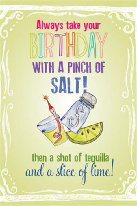 Tequila Birthday Birthday Greetings