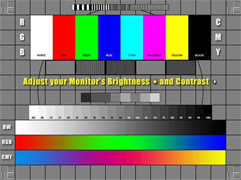 color pattern to adjust monitor monitor calibration adjust your monitor by nico bastone