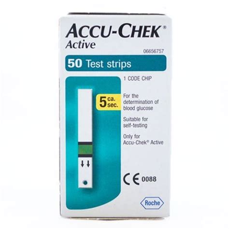 Refill Accu Chek Aktif 50 accu chek active test strips diabetes shop