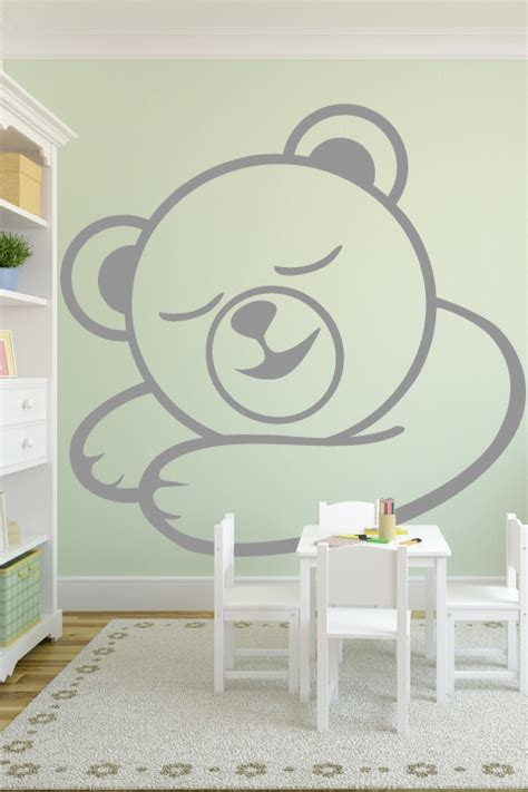 Baroque Wall Stickers baby wall decals sleepy bear walltat com art without