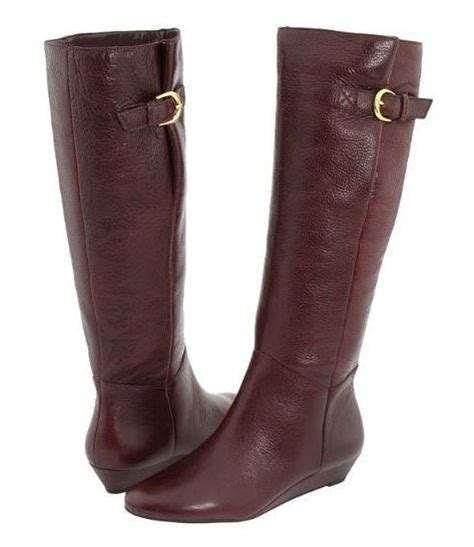 steven by steve madden quot intyce quot wedge boots knee high
