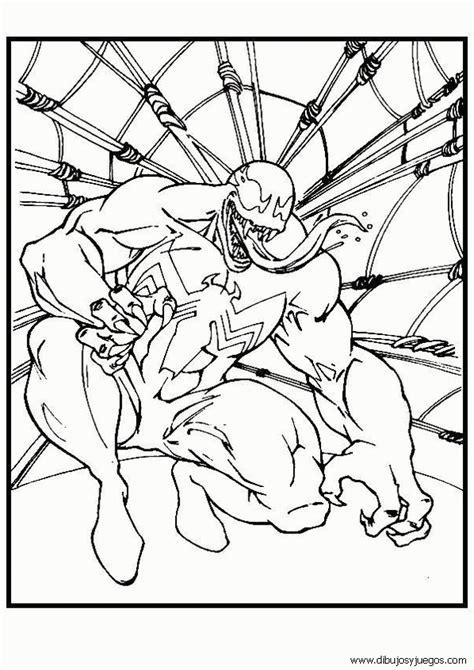 imagenes para pintar spiderman dibujos de spiderman 095 dibujos y juegos para pintar y