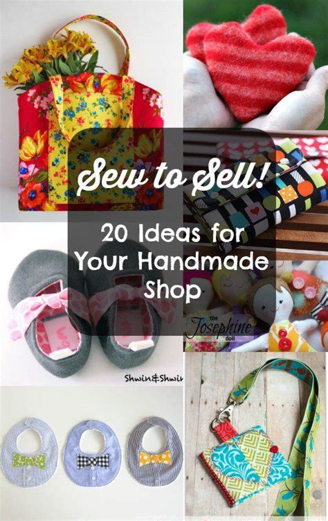 Ideas For Handmade Items To Sell - the 25 best sewing to sell ideas on selling
