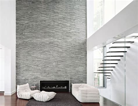 new wall design modern stone fireplace designs