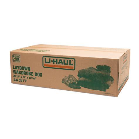 U Haul Wardrobe Box Price by U Haul Laydown Wardrobe Box