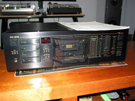 nakamichi cassette deck for sale nakamichi rx 202 cassette deck pending sale tk photo