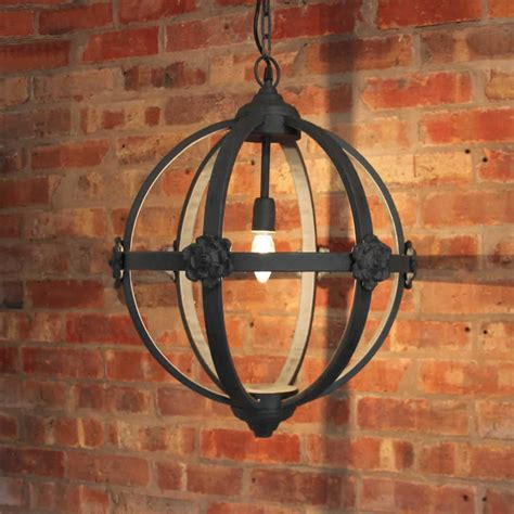 large metal chandelier large metal iron orb chandelier by cowshed interiors
