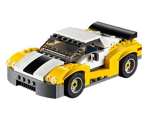 Lego Creator 3 In 1 31046 Fast Car Set Motorcar Truck Forklift Tractor fast car 31046 creator 3 in 1 lego shop
