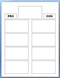 pros and cons worksheet template desktop decision maker success begins today