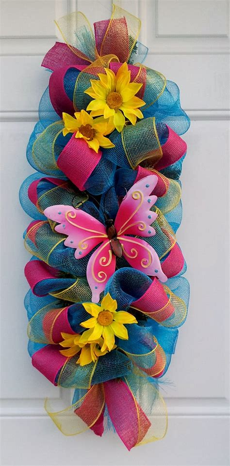 spring butterfly wreath artificialchristmaswreaths com unavailable listing on etsy