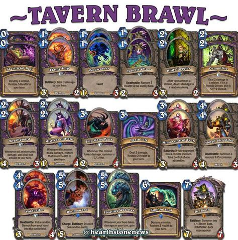 heartstone warlock deck 17 best images about hearthstone on