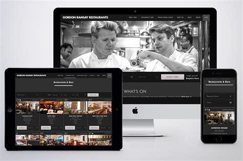 Gordyn Pr new website unveiled for gordon ramsay restaurants