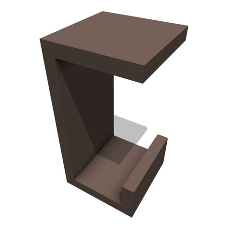Box Stool by Kagu Fir Box Stool 10296 2 00 Revit Families Modern Revit Furniture Models The Revit