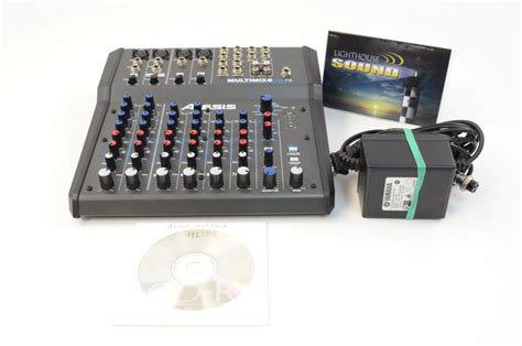 Mixer Murah Mixer 6 Ch Mixer Huzler Wf 6g alesis multimix 8 usb fx analog mixer w power supply reverb