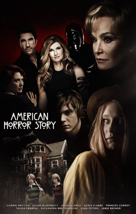 murder house american horror story american horror story murder house poster by panchecco