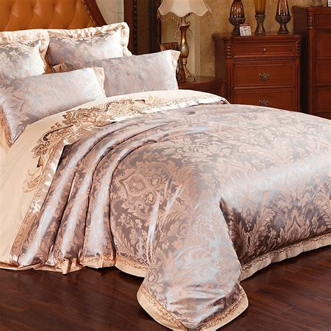 high end bed comforters high end quality home textile pure silk bedding set 3d