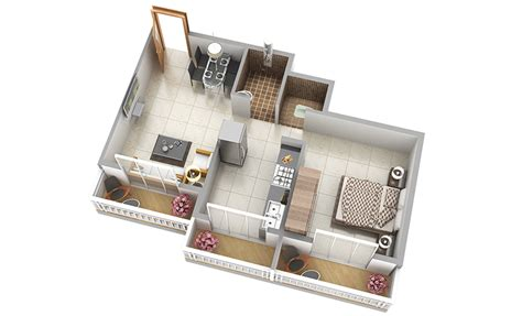 home interior design for 1bhk flat 3d view of 1bhk 2 bhk interior design online store