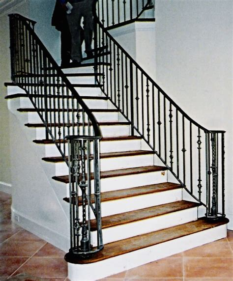 Iron Stair Rails And Banisters by Stair Rails