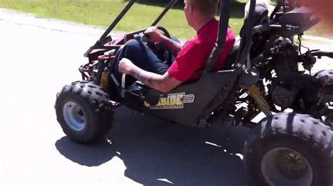 go cart with four wheeler motor