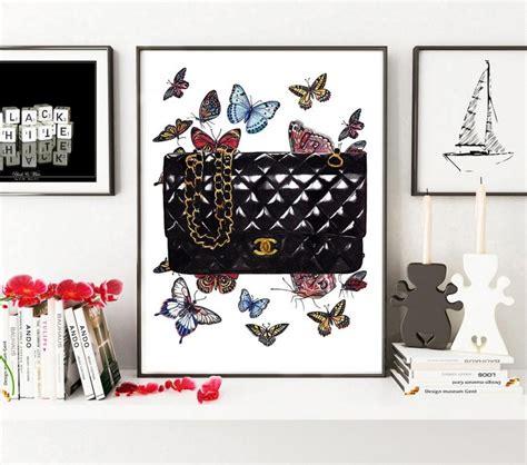 Bag Fashion Atr chanel illustration chanel coco chanel print chanel bag